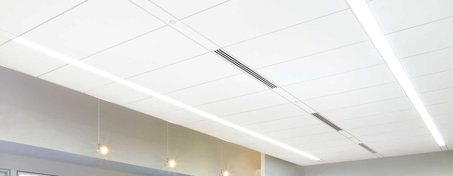 NH MA Acoustical Drop Suspended Ceiling