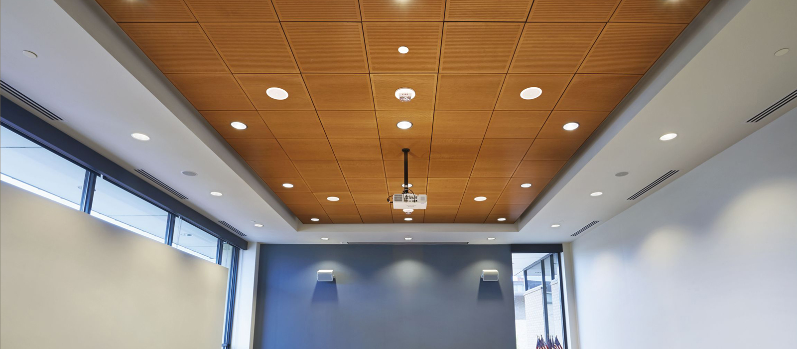 NH MA Specialty Ceilings wood panel, tin, floating clouds, and metal pan ceilings