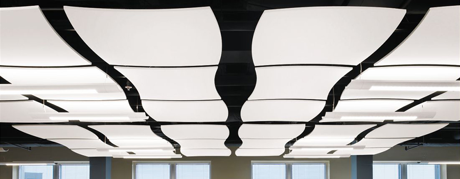 NH MA Acoustical Clouds Shapes Cloud Ceilings