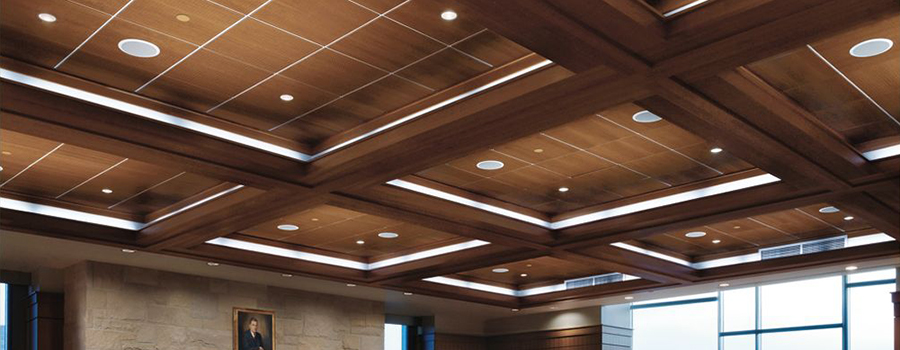 NH MA Wood Panels Ceilings Armstrong WoodWorks