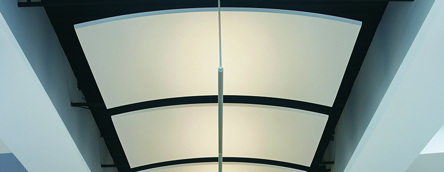 NH MA Curved Canopy Canopies Ceilings